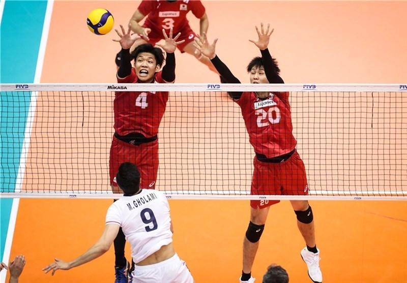 پوشش زنده؛ جام جهانی والیبال، تساوی ایران و ژاپن در خاتمه ست دوم