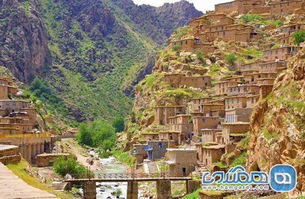 روستایی دیدنی که به ماسوله کردستان شهرت دارد